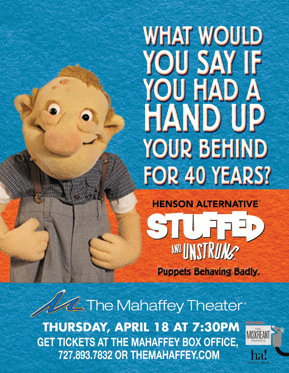 Jim Henson Co Stuffed and Unstrung poster