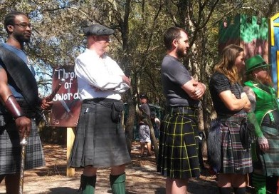 The Renaissance Festival Hosts the Highland Games