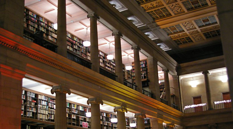 Poetry: Second Floor of the Library