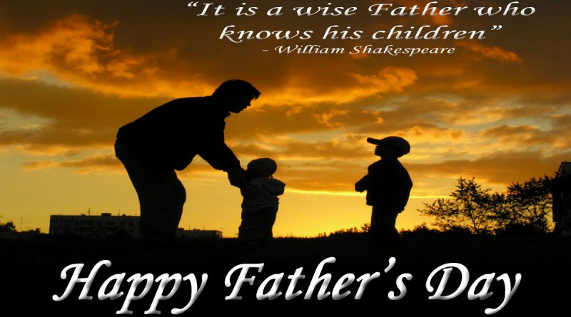 Happy Father's Day from Sandbox News!