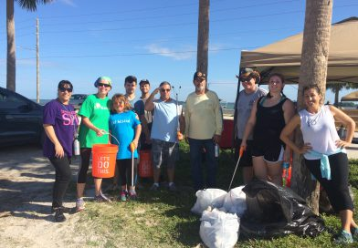 SPC Students Participate in International Coastal Clean Up