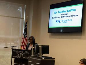 Dr. Tashika Griffith, Provost  of Midtown campus